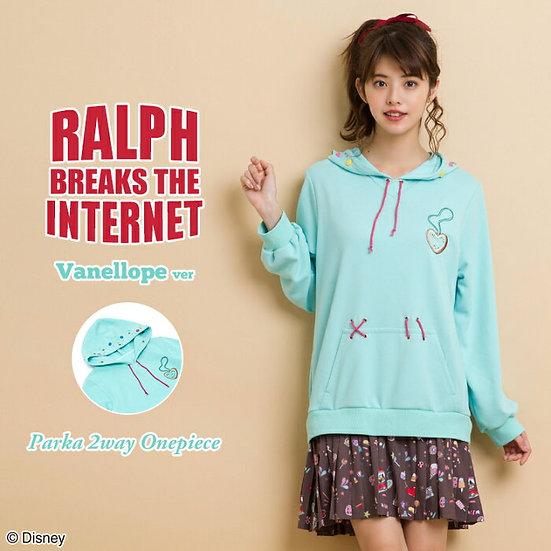 Secret Honey Ralph breaks the internet Vanellope ver parka 2ways one piece.