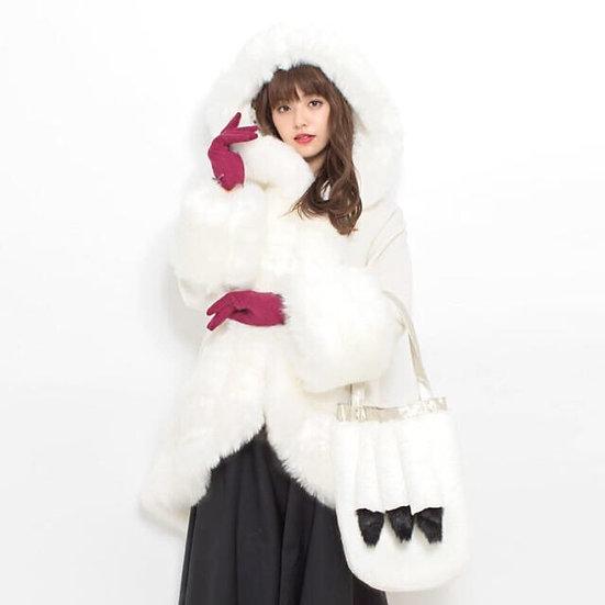 secret honey Disney 101 dalmatians coat with bag