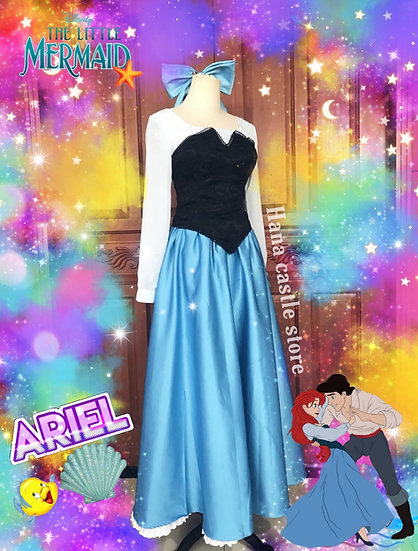 Dreamy collection Ariel kiss the girl bustier dress