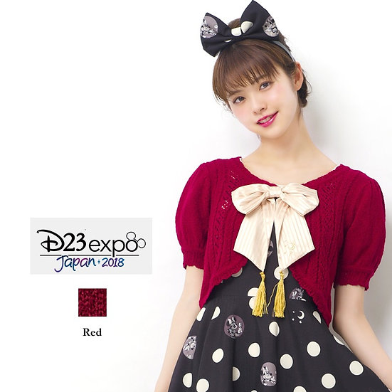 Secret Honey Disney MinnieD23 expo Japan 2018 red cardigan