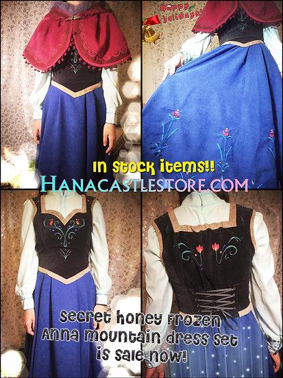 Secret Honey Halloween Anna Frozen Maintain full setup