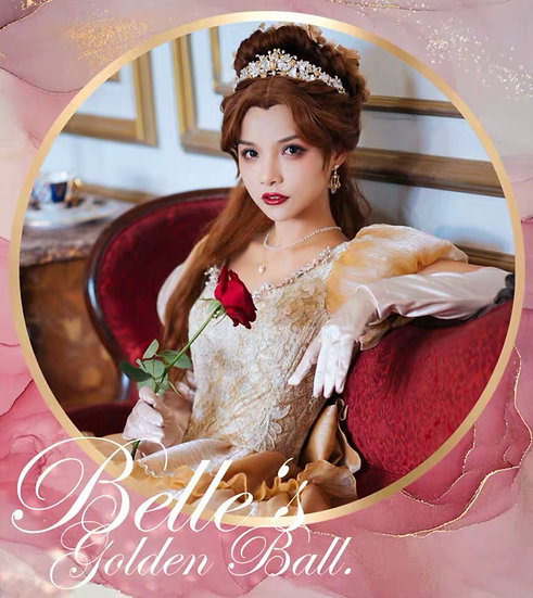 Alois Wang beauty Belle tale as old as time tiara