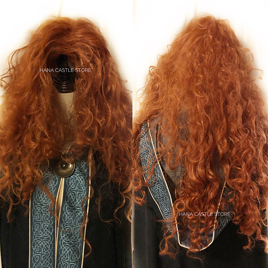Disney Pixar Brave Princess Merida wig