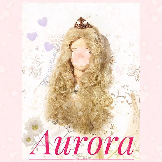 Disney Princess Aurora sleeping beauty wig