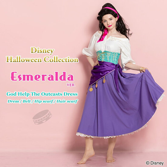 Secret Honey Esmeralda Halloween dress 2018 version