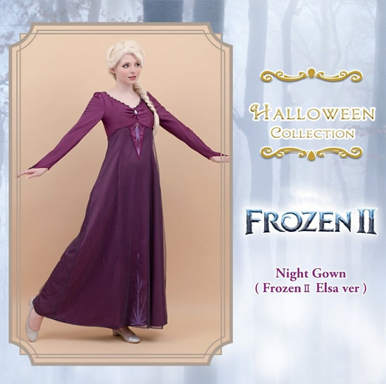 Secret Honey Frozen2 Elsa night gown