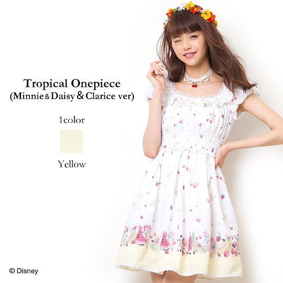 Secret Honey Disney Tropical onepiece (Minnie, Daisy & Clarice) dress
