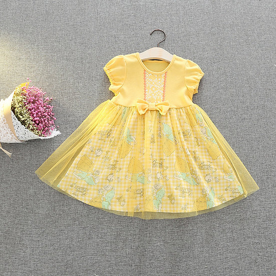 Disney Princess Beauty and the beast Belle baby girl dress