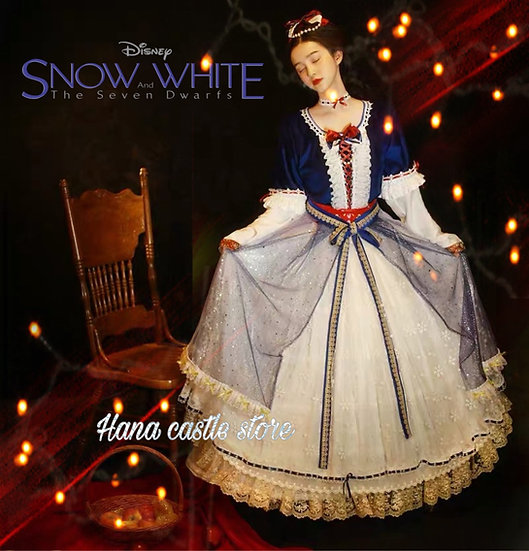 Dreamy collection my princess Snow White Lolita style dress