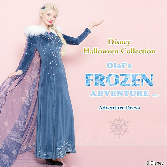 Secret Honey Elsa (Olaf's frozen adventure) Halloween dress 2018