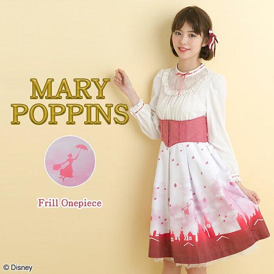 Secret Honey Mary poppins Frill one piece