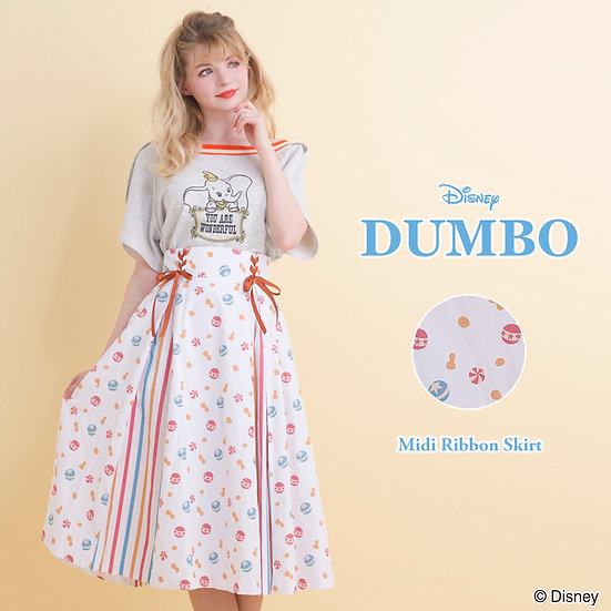 Secret Honey Dumbo color T-shirt or skirt