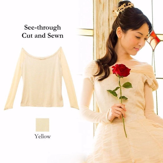 Secret Honey Beauty and the beast Belle gold top