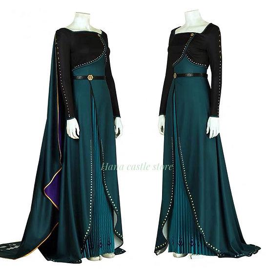 Hana castle Frozen2 Anna Green Gown