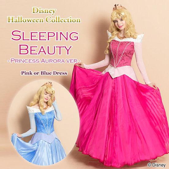 Secret honey Sleeping beauty Aurora pink/ blue Halloween dress