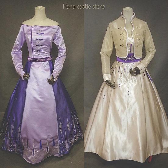 Dreamy collection Frozen2 Anna, Elsa dress