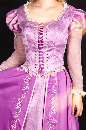 Dreamy collection Rapunzel I see the light dress