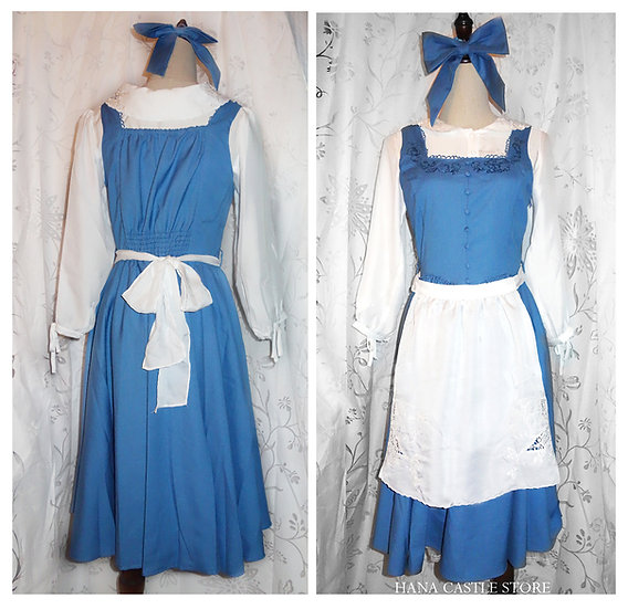 Secret Honey Beauty and the beast Belle little town dress set