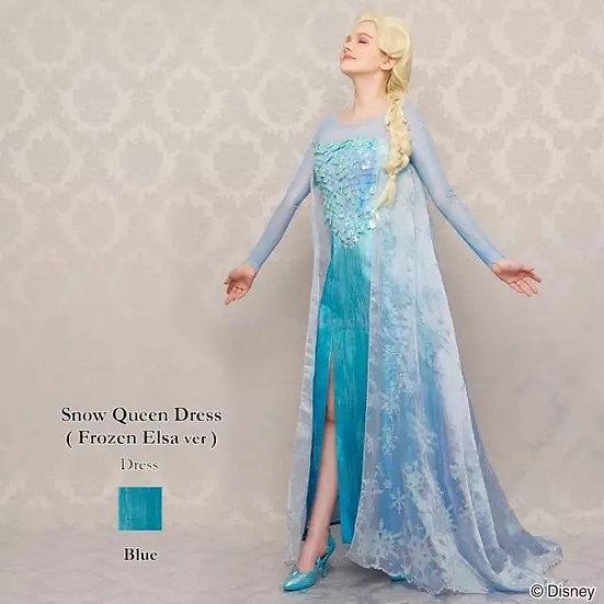 (Last oSecret Honey Frozen Elsa Snow Queen dress set (with label)