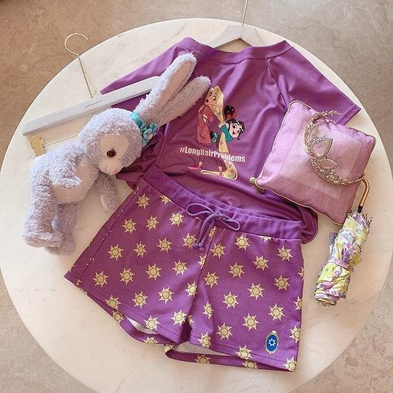Disney Tangled Rapunzel X Ralph breaks the internet pajamas set