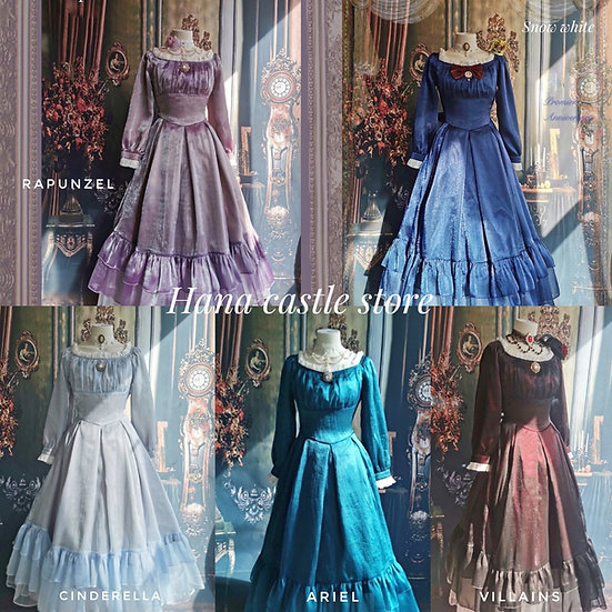 Sissi production Disney Princess dress