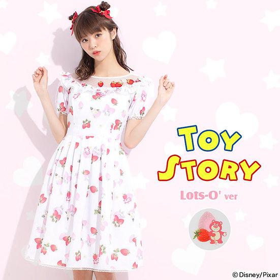 Secret Honey Pixar Toy story Lotso pink strawberry dress