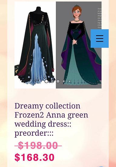 Clearance sale!! Anna costume in L
