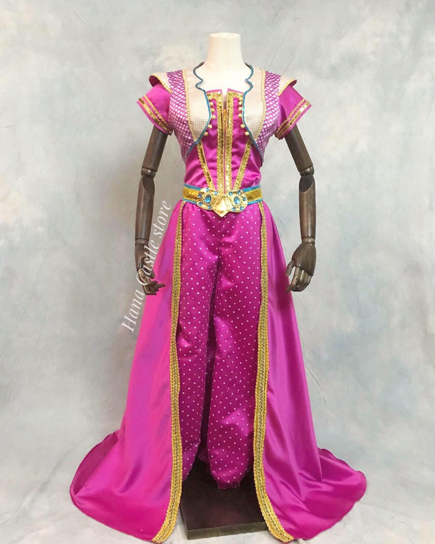 Disney Dreamy Collection Aladdin 2019 Live Action Princess Jasmine Pink Pant
