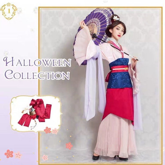 Secret Honey Disney Mulan first version 2017 Halloween dress set