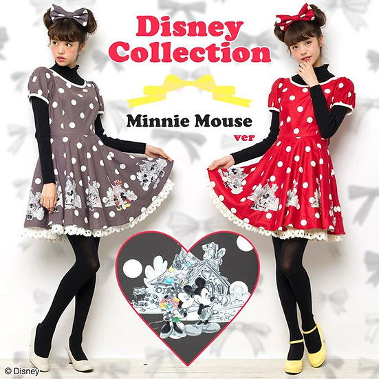 Secret Honey Disney Minnie Mouse dress