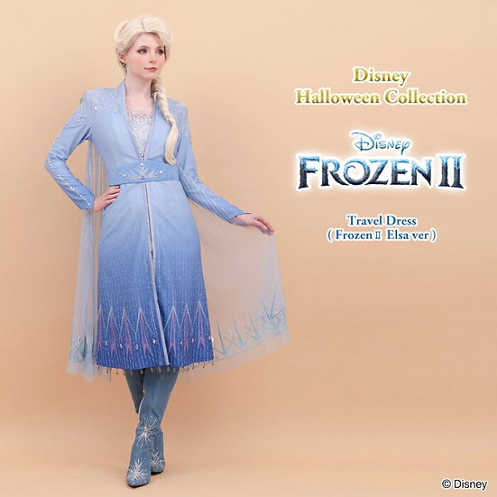 Secret Honey Frozen2 Elsa Travel dress set