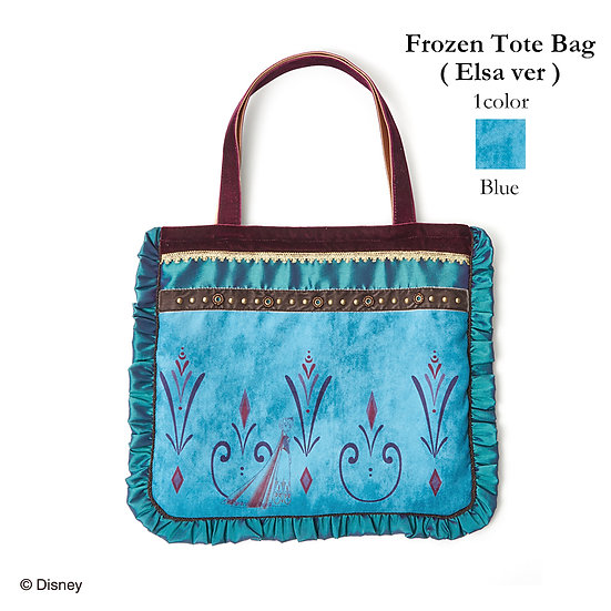Secret Honey Frozen Elsa Coronation painting winter tote bag