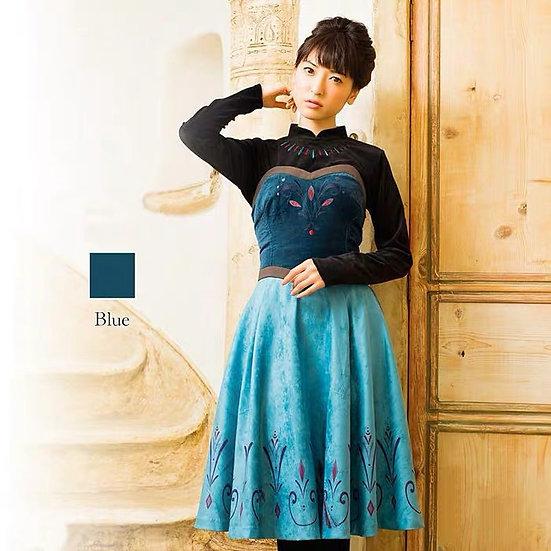 Secret Honey Frozen Elsa Coronation dress set