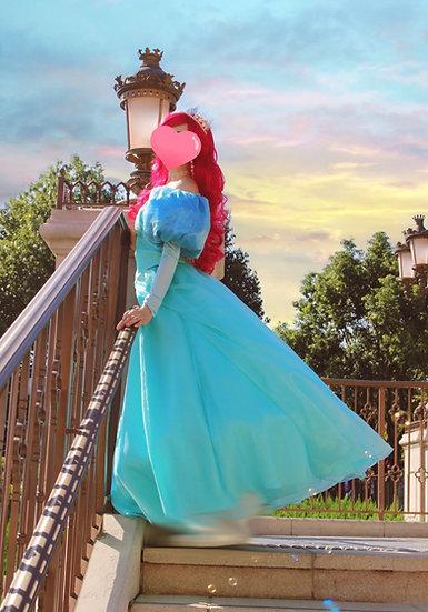 Dreamy collection Little mermaid Ariel Park dress