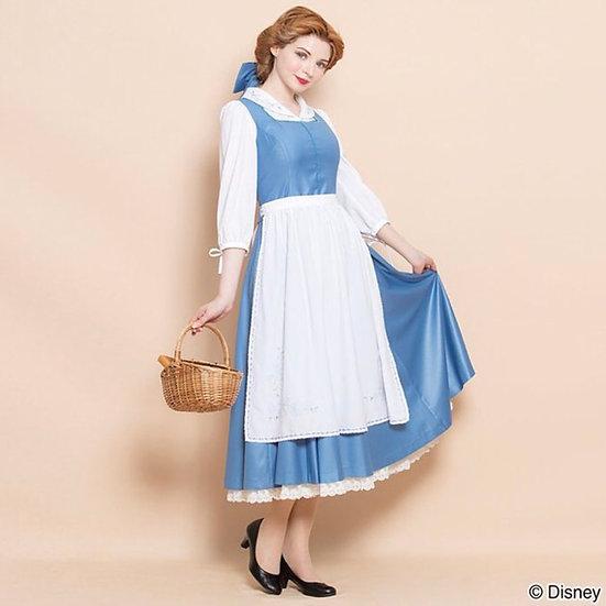 Secret honey Beauty and the beast Halloween Princess Belle little town dress