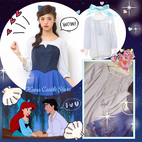 Secret Honey centre lace blouse for Ariel