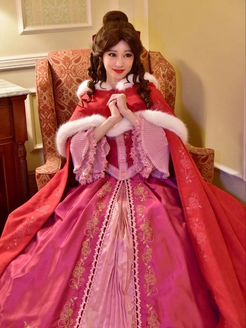 Secret Honey Beauty And The Beast Belle Something There Cape
