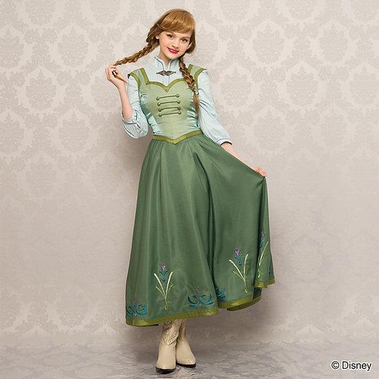 Secret Honey frozen Anna skater Halloween dress and bustier