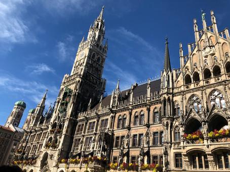 I Was in Munich.