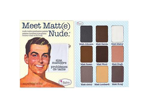 The Balm Meet Matte Nude