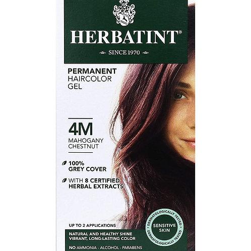 Herbatint Permanent Haircolor Gel (4M-Mahogany Chestnut)
