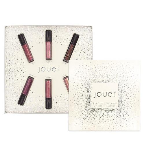 Jouer Best of Metallics Mini Lip Creme Gift Set