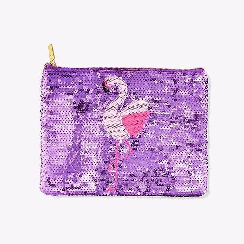 Tarte Flamingo Sequin Bag