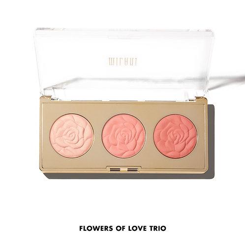 Milani Rose Blush Trio Palette- Flowers of Love Trio