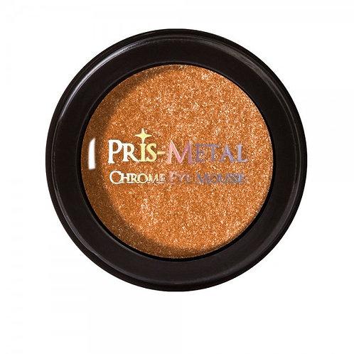 JCat Beauty Pris-Metal Chrome Eye Mousse- Orange U Happy