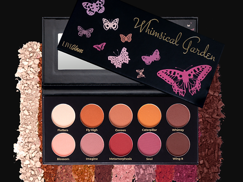 Kiss Me Whimsical Garden Eyeshadow Palette
