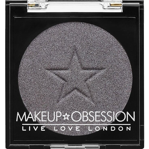 Makeup Obsession Eyeshadow- E135 Haute Silver