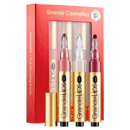 Grande Cosmetics Limited Edition GrandeLIPS Lip Plumper Trio Set