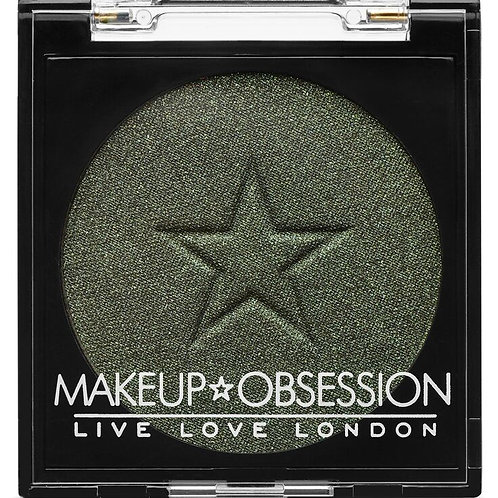 Makeup Obsession Eyeshadow- E133 Emerald Fizz