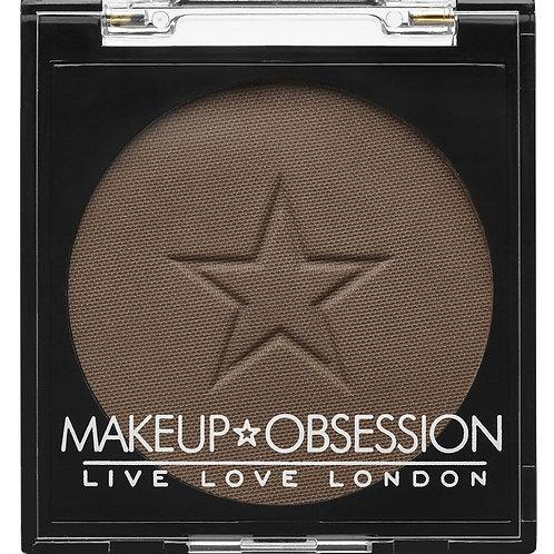 Makeup Obsession Eyeshadow- E128 Dark Chocolate